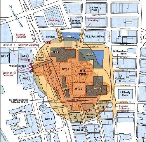 WTC Debris Fields